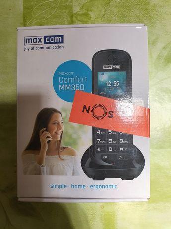 MaxCom MM35D  Telefone DECT  funciona c cartão SIM