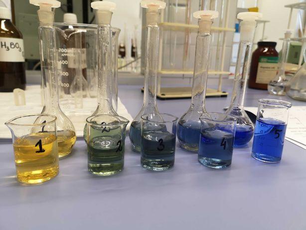 Korepetycje z chemii dla uczniów szkoły podstawowej i liceum
