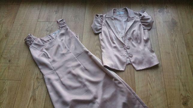 Sukienka + żakiet rozM