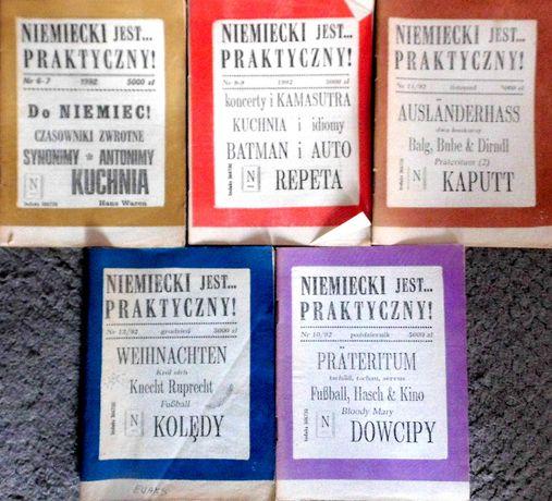 niemiecki jest praktyczny - komplet 5 książeczek