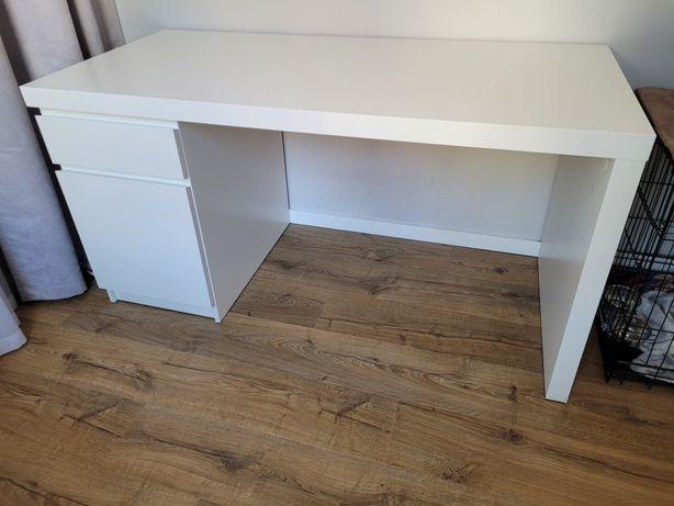 Biurko IKEA Malm   stan bardzo dobry