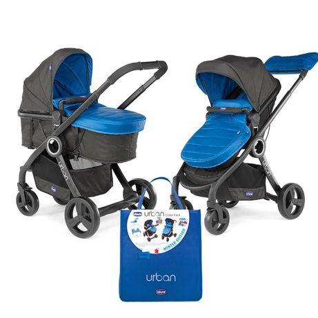 Дитяча коляска Chicco Urban Plus з зимовим і літнім текстилем
