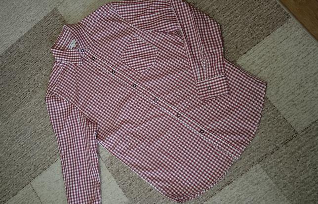 Рубашка в клетку мужская 44 р.