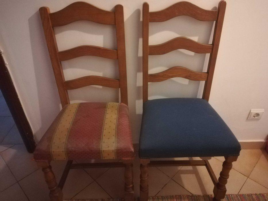 Vendo conjunto de 2 cadeiras Carnaxide E Queijas - imagem 1