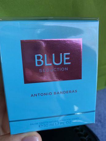 Туалетная вода Blue Seduction Antonio Banderas woman новые