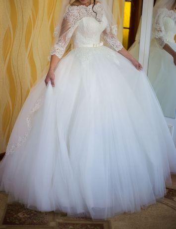 Свадебное платье недорого+ подарок. Дешевое шикарное платье