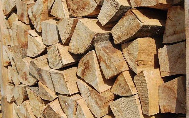 Drewno kominkowe, opałowe bukowe suche świeże