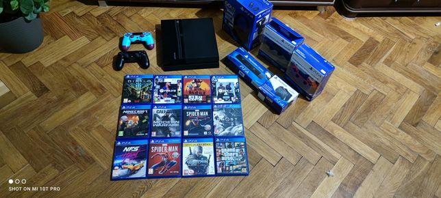 Konsola Sony PS4 PlayStation 4 Pady Duzo gier Zamiana Xbox 360 One Ps3