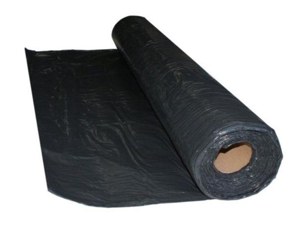 Folia czarna budowlana ochronna TYP 200 6x33 Folie Czarne Budowlane