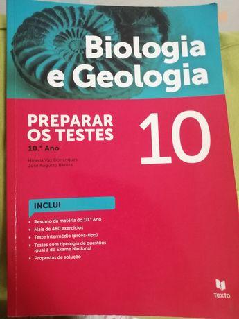 Livro de preparação para testes 10°ano Biologia e Geologia
