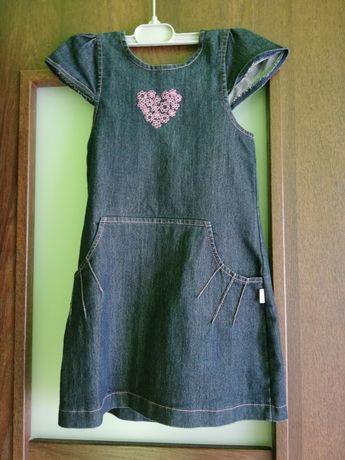 Sukienka dzinsowa dla dziewczynki