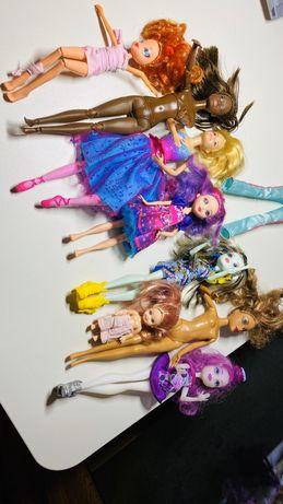 Zestaw 8 lalek barbie i nie tylko 1 szt ubranko dla barbie polecam