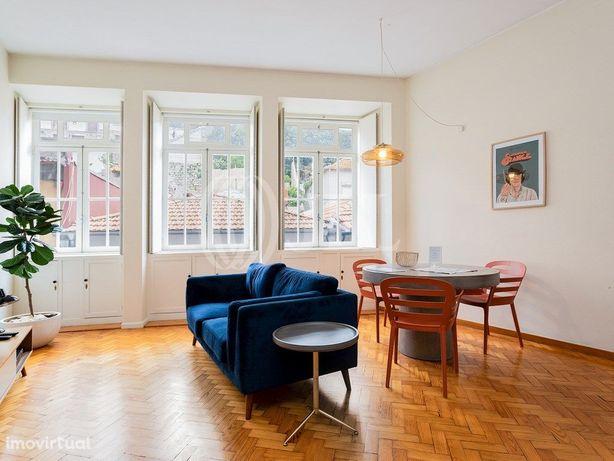 Apartamento T0+1 equipado, mobilado, vista Sé, Baixa do P...