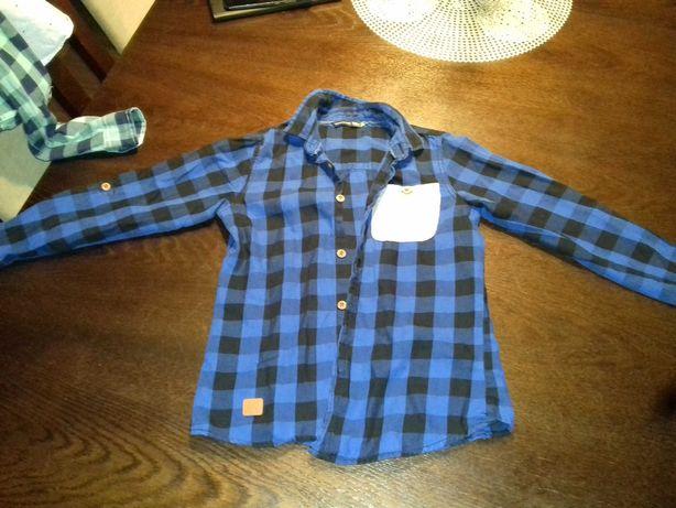 Koszula w kratę reserved r 128