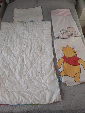 Feretti kołderka kołdra  i poduszka dziecięca Ingeo 100x135 pościel