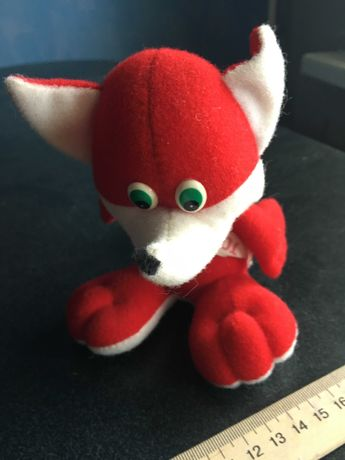 Мягкая детская игрушка Лисёнок Лиса Подарок Продаётся Детская библиоте