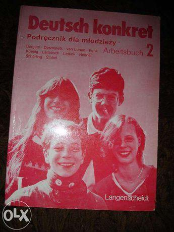 Deutsch konkret. Niemiecki.Podręcznik dla młodzieży. Arbeitsbuch 2.