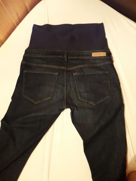 Spodnie ciążowe H&M Mama Skinny High RIB - rozmiar EUR 44 + gratis