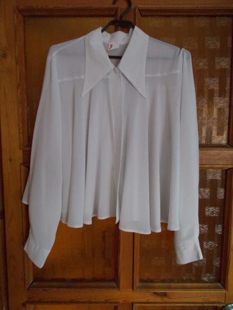 Bluzka damska biała rozmiar M