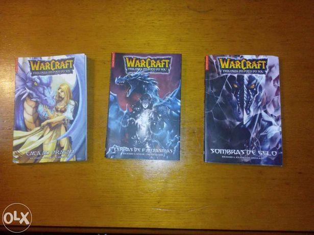8 Livros Warcraft (Legends) e (Poço do Sol)