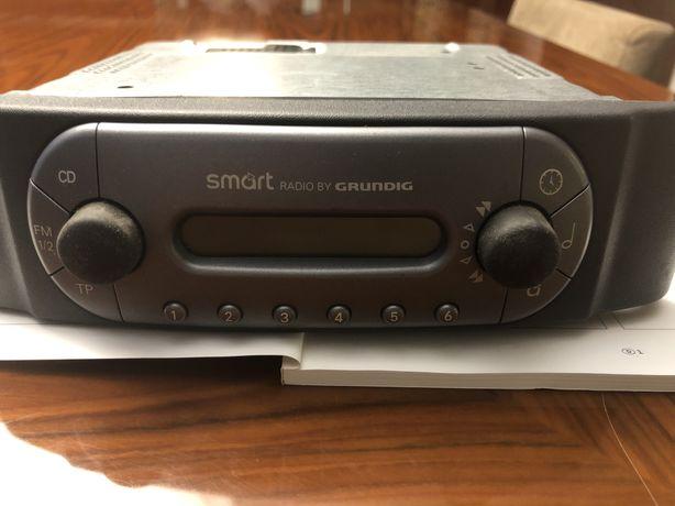 Radio e colunas originais para smart
