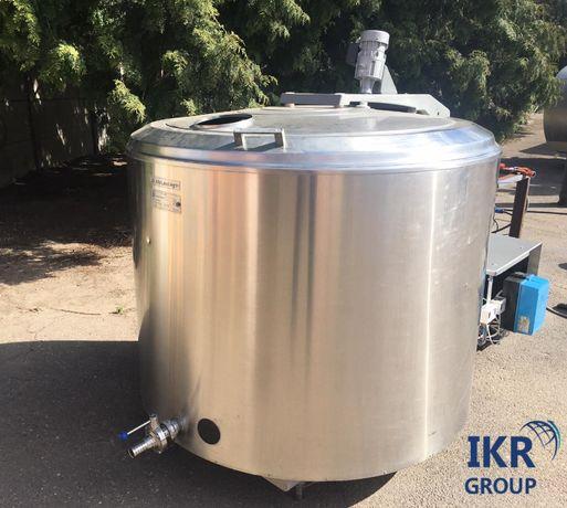Охладитель молока (танк) на 1200 литров б/у на складе в Ровно с НДС