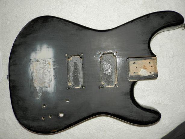 gitara elektryczna korpus superstrat mayones