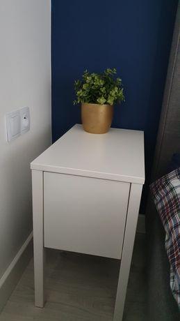 Stolik nocny Nordli Ikea biały