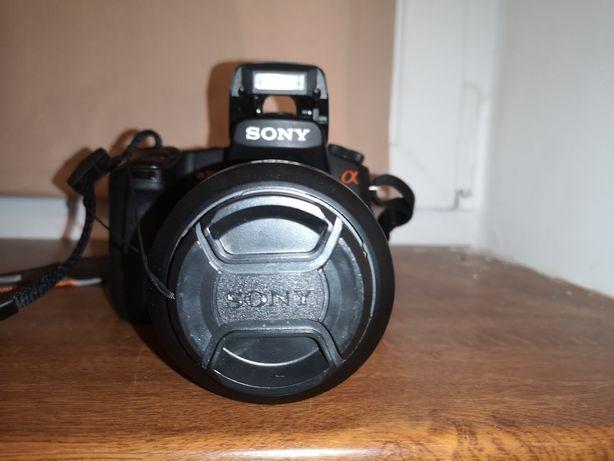 Lustrzanka Sony Alpha 350.