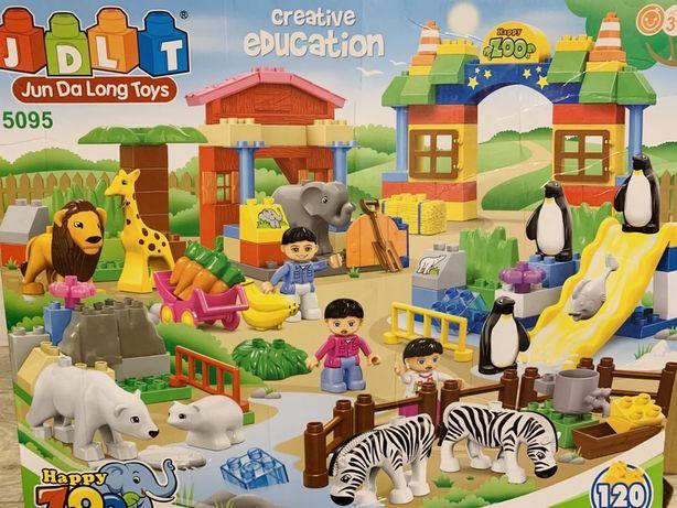 Большой конструктор Jdlt 120 деталей lego лего