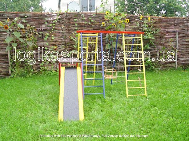 Горка, игровая площадка, мат, качели, детский спортивный комплекс