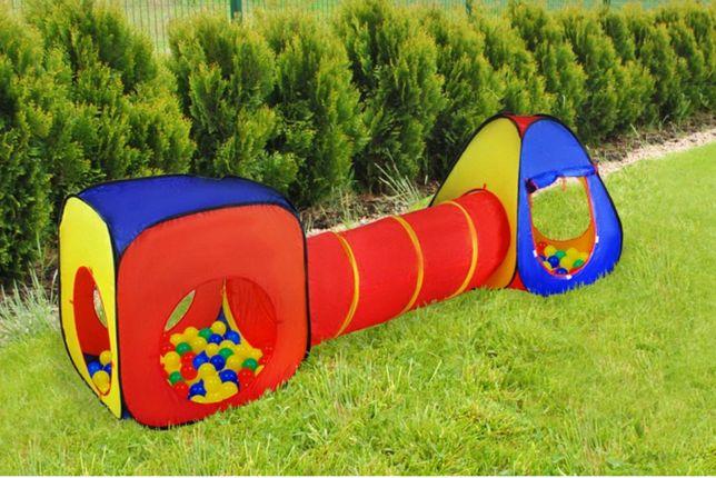 Детская игровая палатка дитячий намет с тоннелем размер 281Х92Х75
