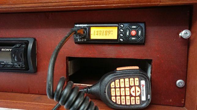 Baojie BJ-218 transceiver VHF/UHF skaner odbiornik szerokopasmowy