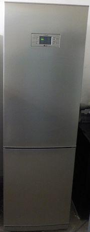 Lodówka LG No Frost, inox, używana