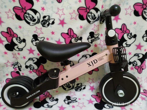 Детский трехколесный велосипед-трансформер 3 в 1,  Poppet