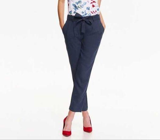 Spodnie granatowe damskie