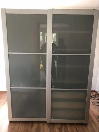 Szafa IKEA pax 150 x 60 x 202 przesuwne drzwi szklane