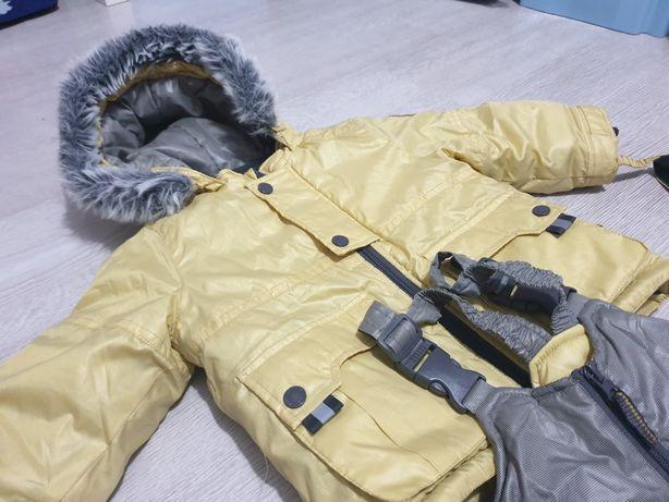 Kombinezon zimowy (kurtka + spodnie) rozmiar 80 coccodrillo