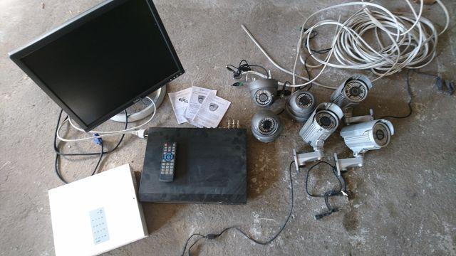 Zestaw monitoringu , kamery, monitor Dell