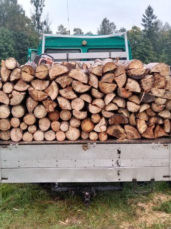Drewno opalowe rabane