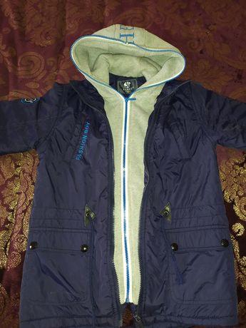 Куртка-парка на 8 лет
