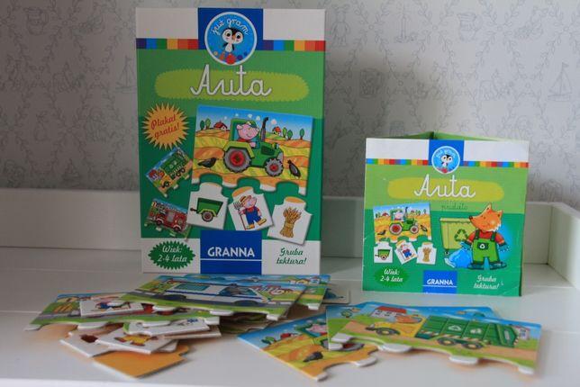 Puzzle, układanki Auta firmy Granna