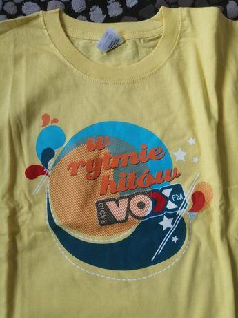 T-shirt NOWY VOX FM w rytmie hitów r. XL