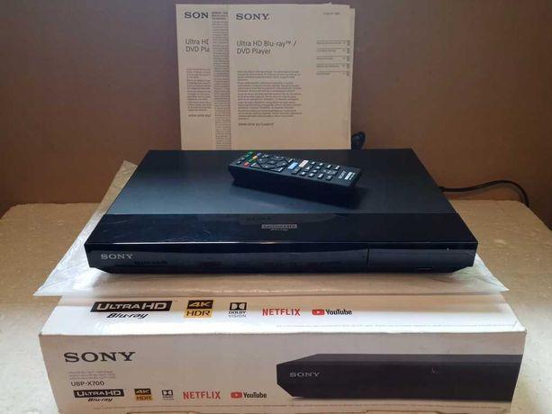 Sony UBP-X700 odtwarzacz UHD serwer sieciowy, pilot, gwarancja