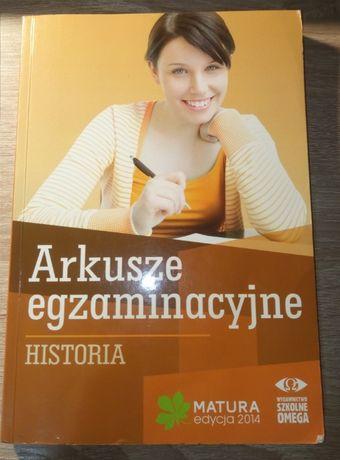 Arkusze egzaminacyjne - Matura Historia
