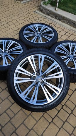 Диски с резиной R20 Audi A8 S8 A7 S7 A6 S6 265/40/20 Dunlop 5/112