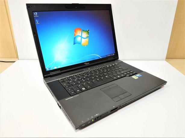 Ноутбук Fujitsu 15.4 / Core2Duo 2.53 ГГц / 4 ОЗУ DDR3 / 120 SSD/ Win 7