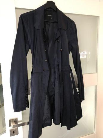 Granatowy płaszcz Veromoda