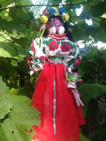 Кукла мотанка(кукла ручной работы с ручной вышивкой гладью)