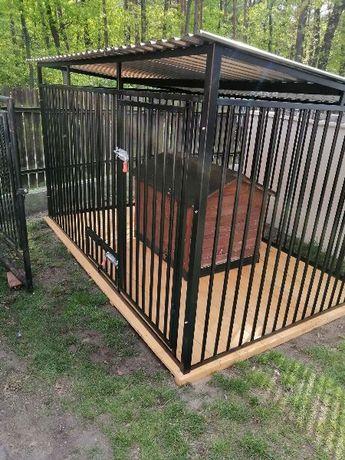 Najlepsze, klatki, kojce dla psów 2x2m + podłoga